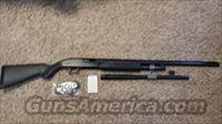 Mossberg 3 in 1 home defense 12 gauge 500 PUMP ACTION