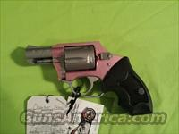 "Charter Arms ""Pink Lady"" .38 spl HAMMERLESS 5RDS"