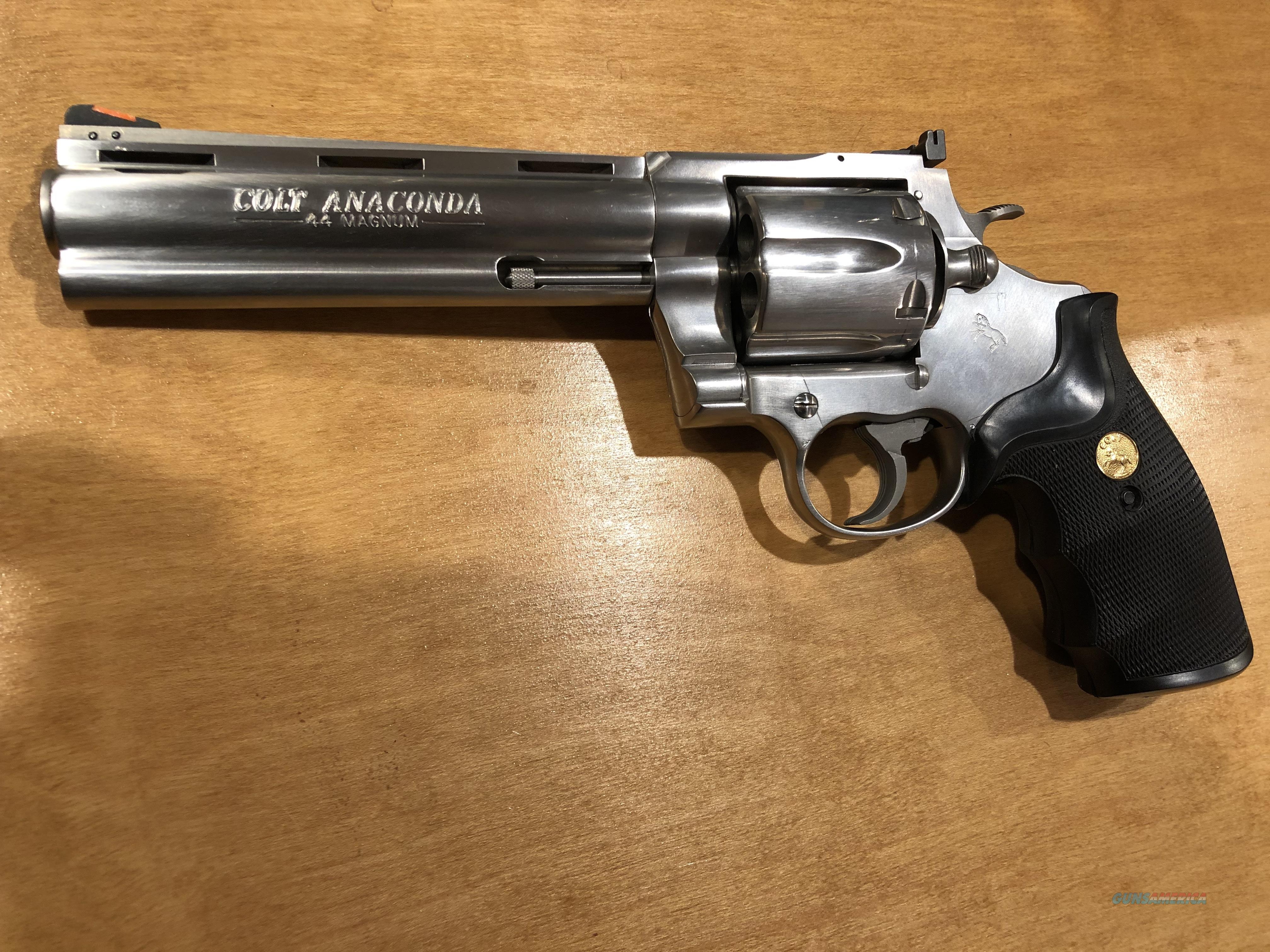 Colt Anaconda Value