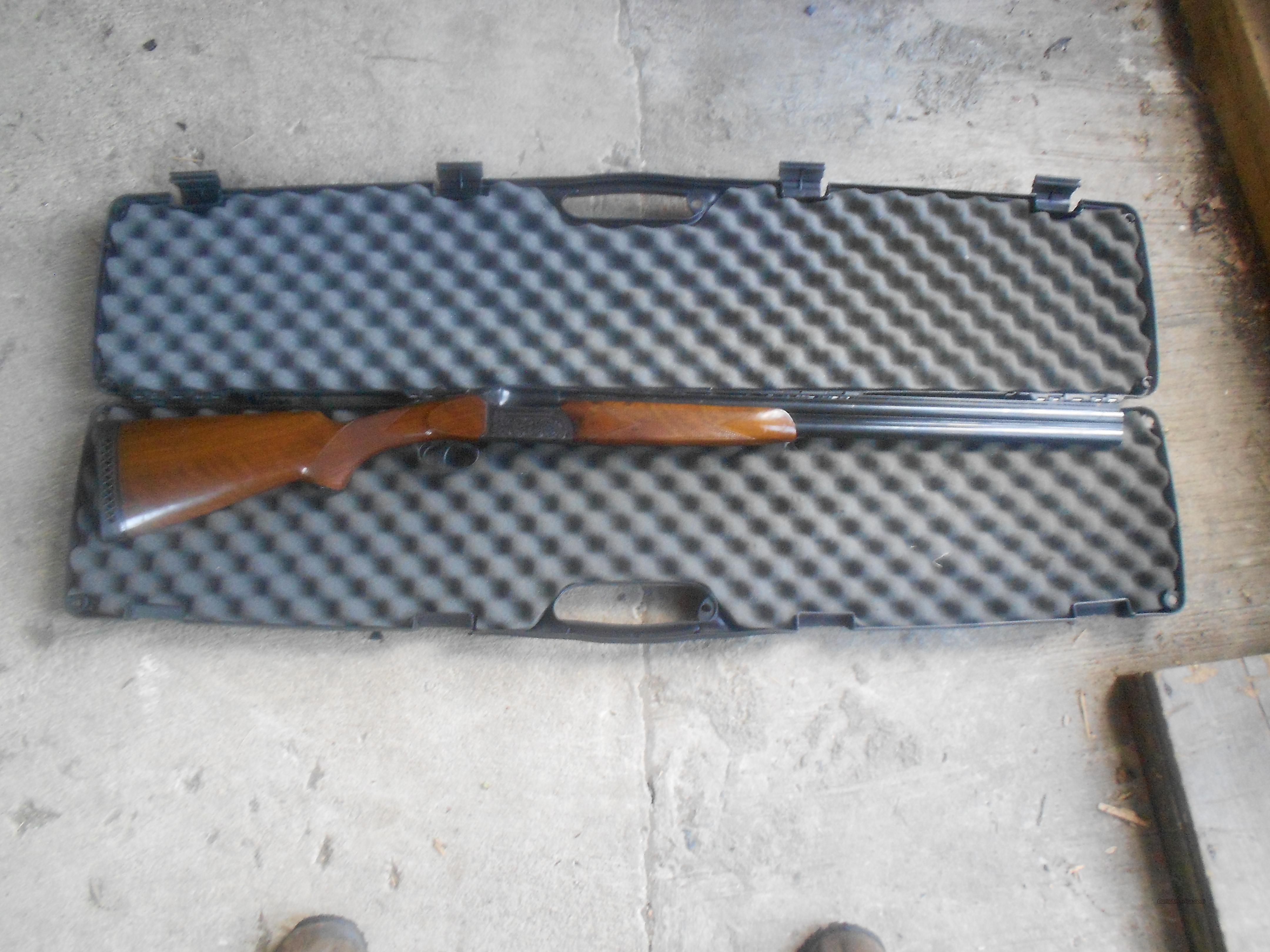 Universal firearms Brescia Italy shotgun model 2036 over and under