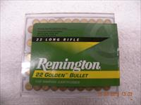 Remington 22LR Golden Bullet 1000Rds HV 1255fps at Muzzle