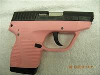 TAURUS PT738TCP .380, PINK, STAINLESS/POLYMER, NO RESERVE,  FREE LAYAWAY