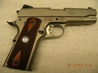 RUGER SR1911, 45ACP COMMANDER STAINLESS, FREE LAYAWAY