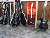 Trade Small Guitar & Amp Collection For Guns ???