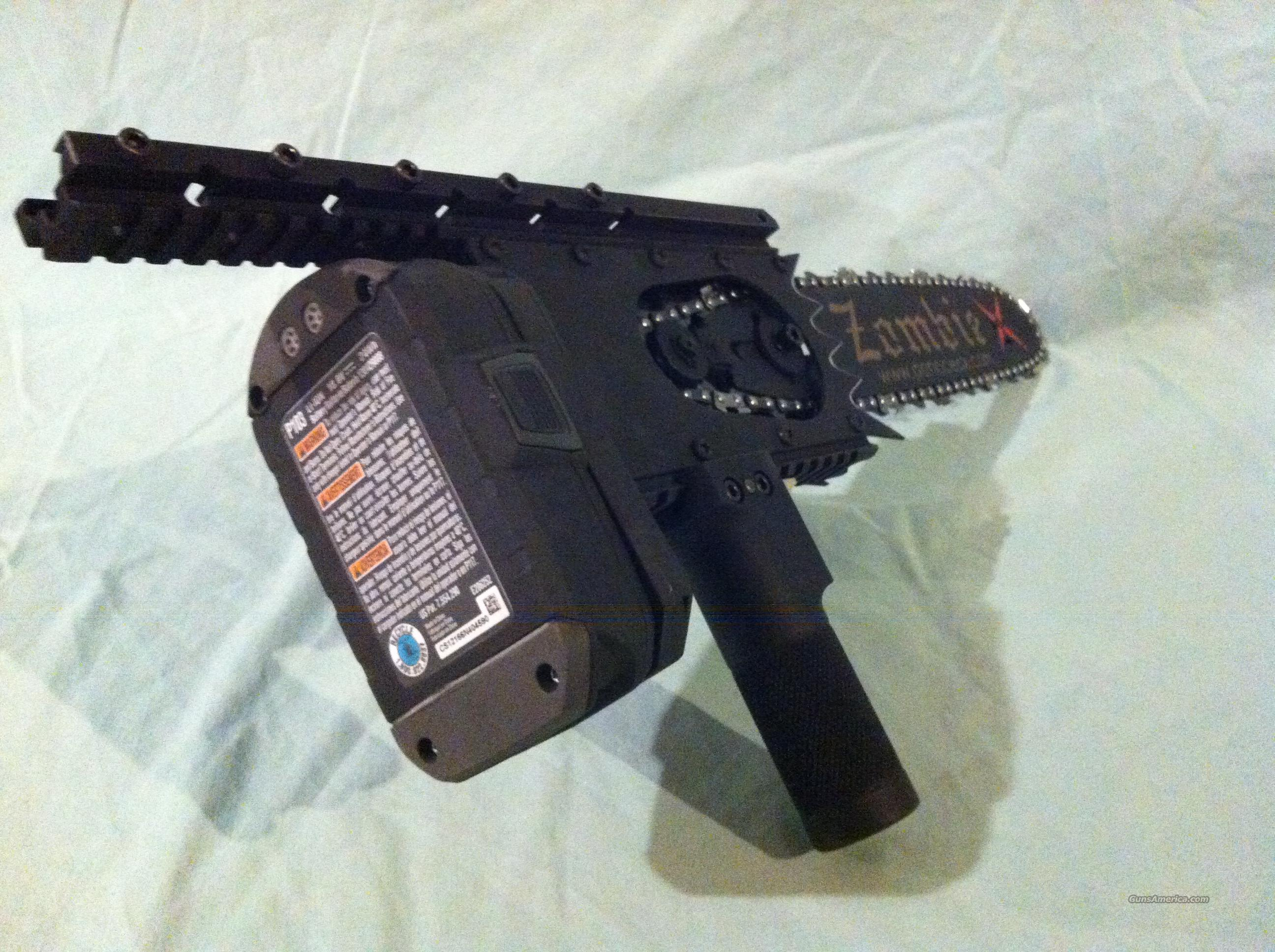 Zombie Bayonet Chainsaw For Sale