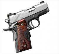 Kimber Ultra CDP II 9mm w/ Crimson Trace + 2 Holsters and 5 Clips