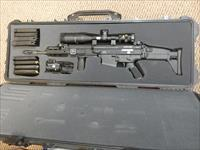 Scar 17S with Trijicon Scope