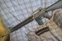 USED M16 UPPER WITH A NEW  OLYMPIC ARMS RECIEVER