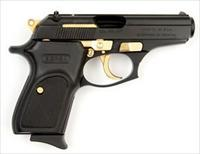 Bersa 380 Thunder special Black and Gold edition.