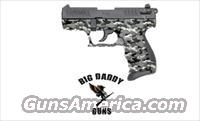 Walther P22 22LR Urban Camo NEW in Box