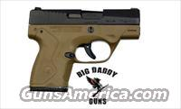 Beretta Nano BU-9 9MM FDE 8rd New In Box