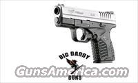 Springfield XDS 9MM 3.3in Bi-Tone 7rd New Post Recall
