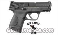 S&W M&P Compact 9MM 12rd Black AMBI Safety New