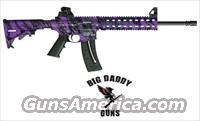 S&W M&P15-22 Purple Platinum/Black 25rd NEW in Box