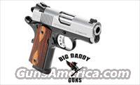 Springfield 1911 EMP 40SW Compact Cocobolo Stainless NEW in Box