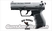 Walther PK380 380ACP 2-8rd Mage Nickel Slide/Black NEW in Box
