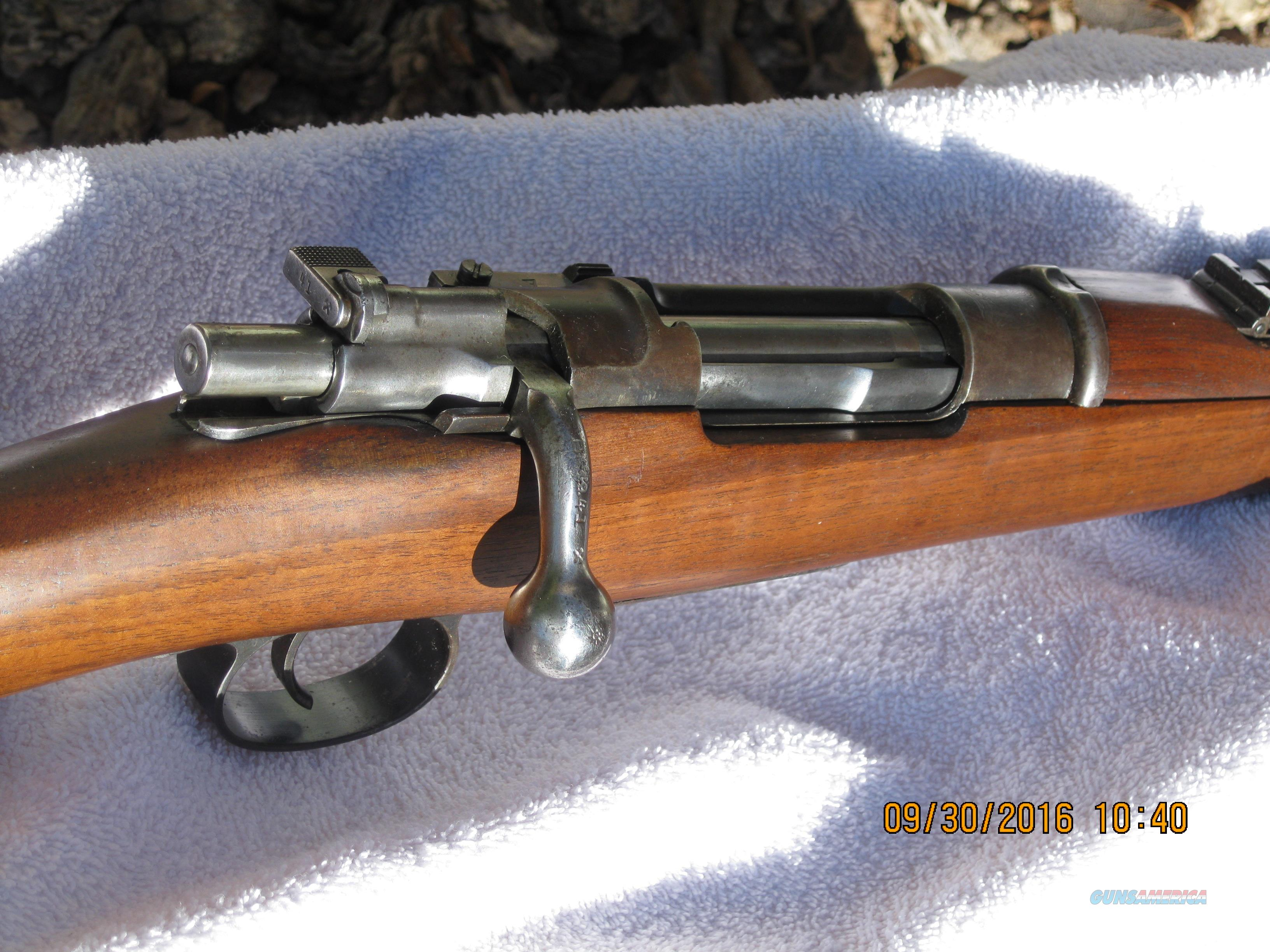 MAUSER- -1895 CHILEAN CAVALRY CARBINE