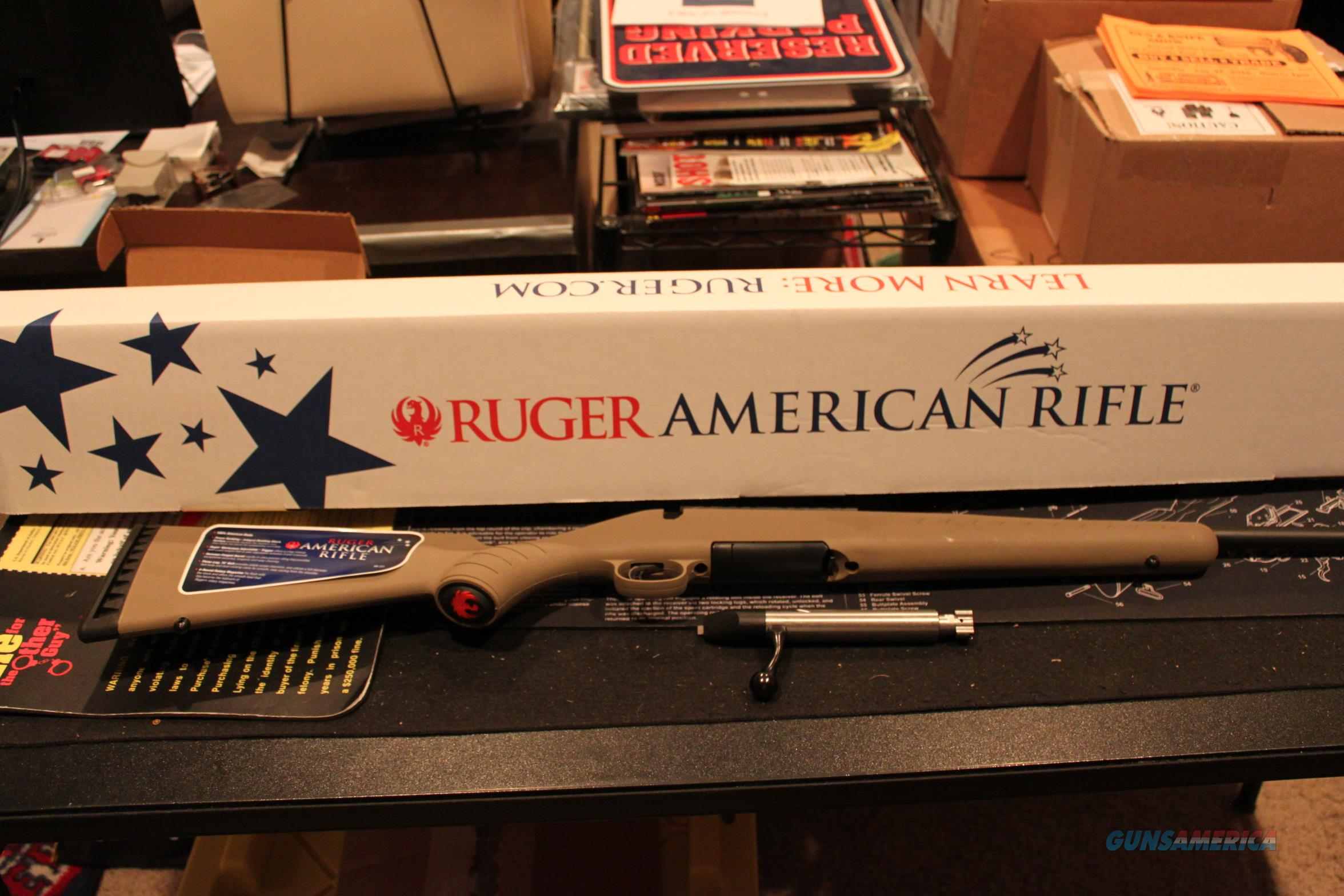 Ruger, American Rifle Ranch, Bolt-Action, 300 BLK, 16 1