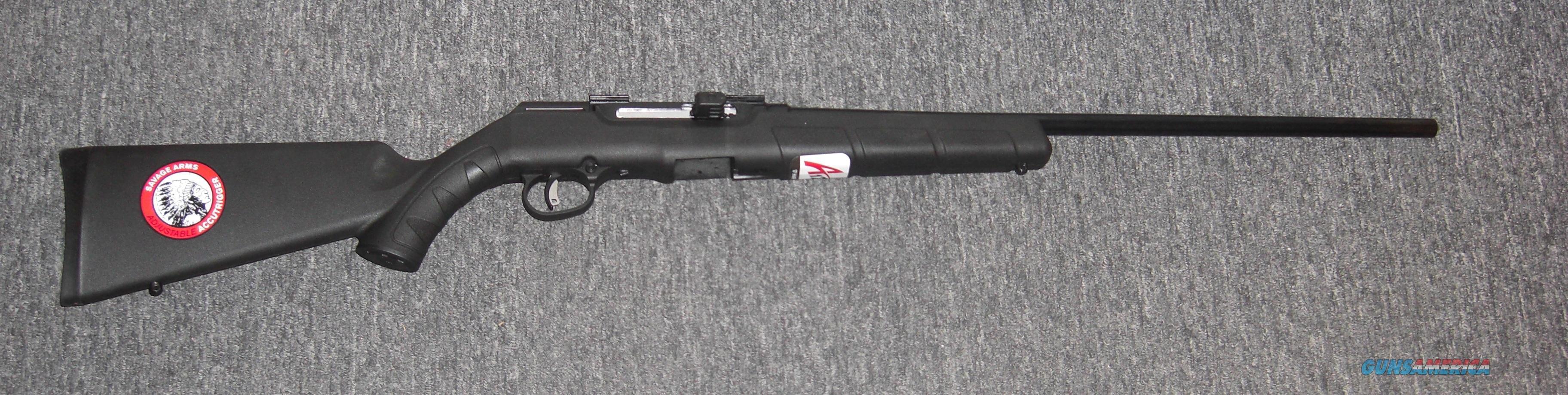 savage a17 semi auto rifle w scope accutrigger for sale