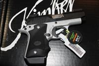 Kimber Micro 9 Two-Tone Day-Night TruGlo TFX Pro Hogue Grips