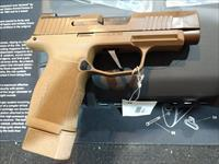 Sig Sauer P365XL-NRA Coyote Tan 9mm 3.7