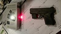 XDs 45ACP With Viridian Red Laser and Instant-On Holster