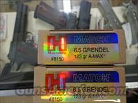 Hornady 6.5 Grendel 123g A-Max Match 40 Rounds