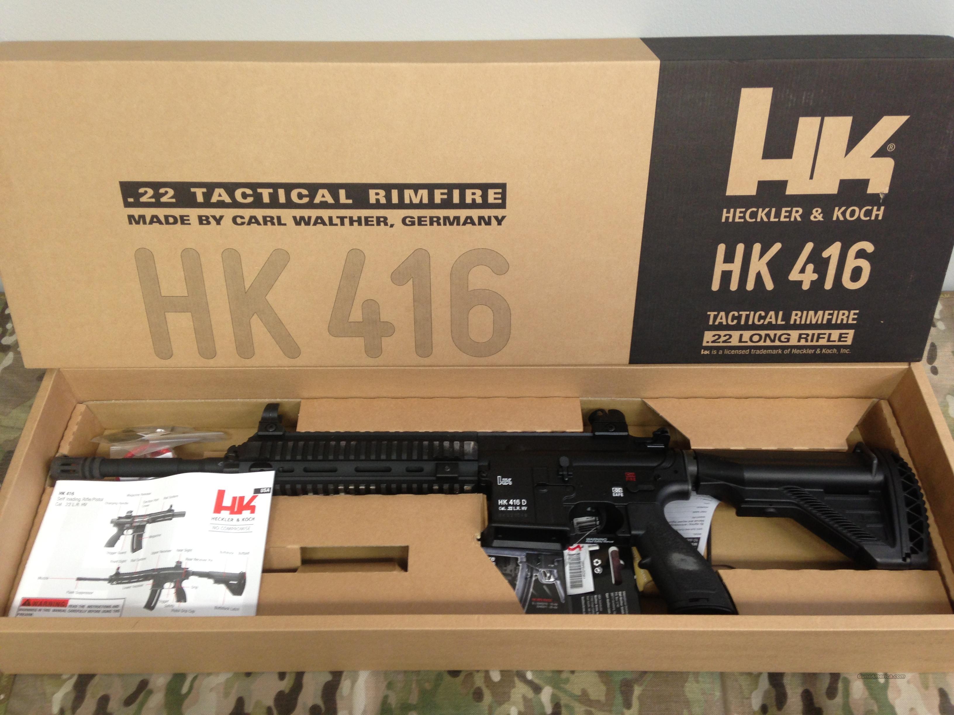 Heckler & Koch HK416  22LR
