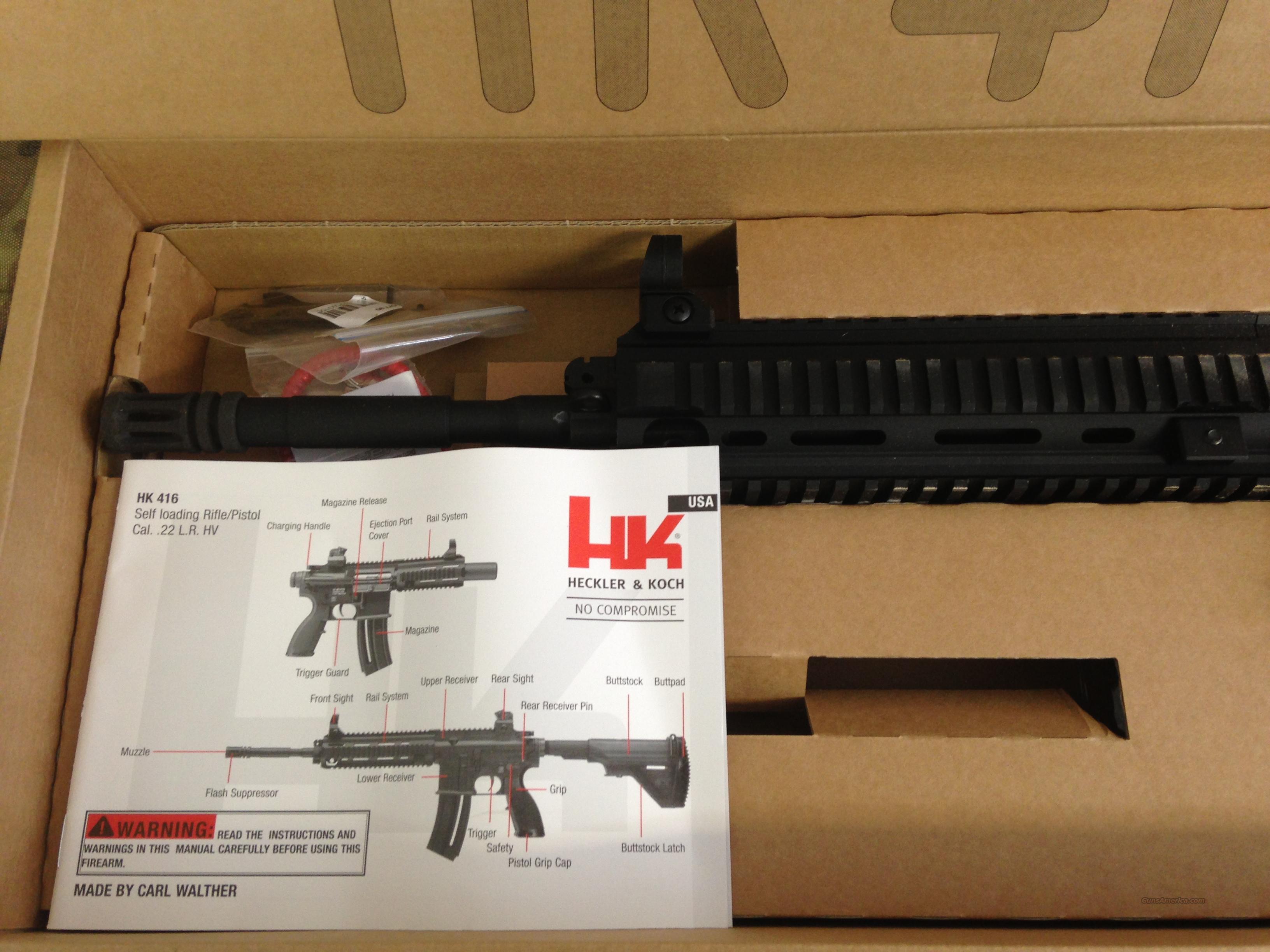 Hk 416 22lr Suppressor