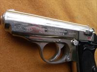 walther ppk commercial nickel
