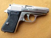 walther ppk  commercial NICKLE