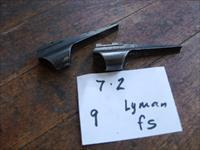 two lyman front sight ramp