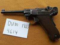 early 1900 dwm luger