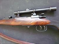 Mauser kurz converted to 22 wcf hornet sedgley