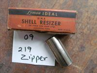 lyman ideal shell resizer 219 zipper
