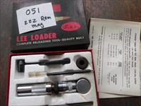 lee loader 222 rem mag