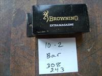 browning bar magazine 308/243 new