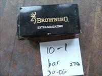 browning bar magazine 30-06/270 new