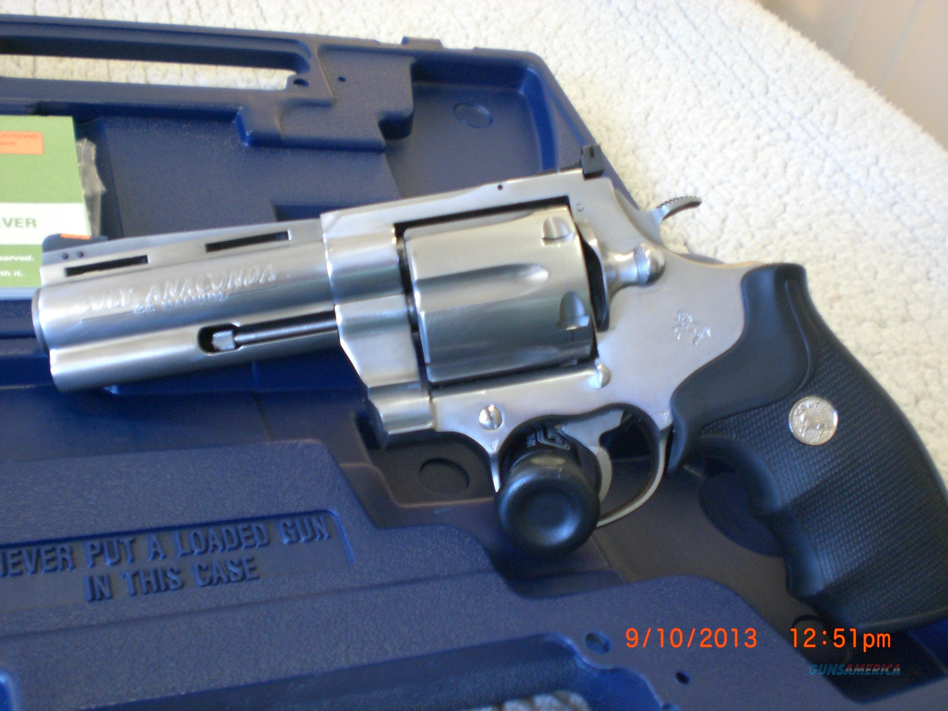 Colt Anaconda Stainless 44 Magnum 4