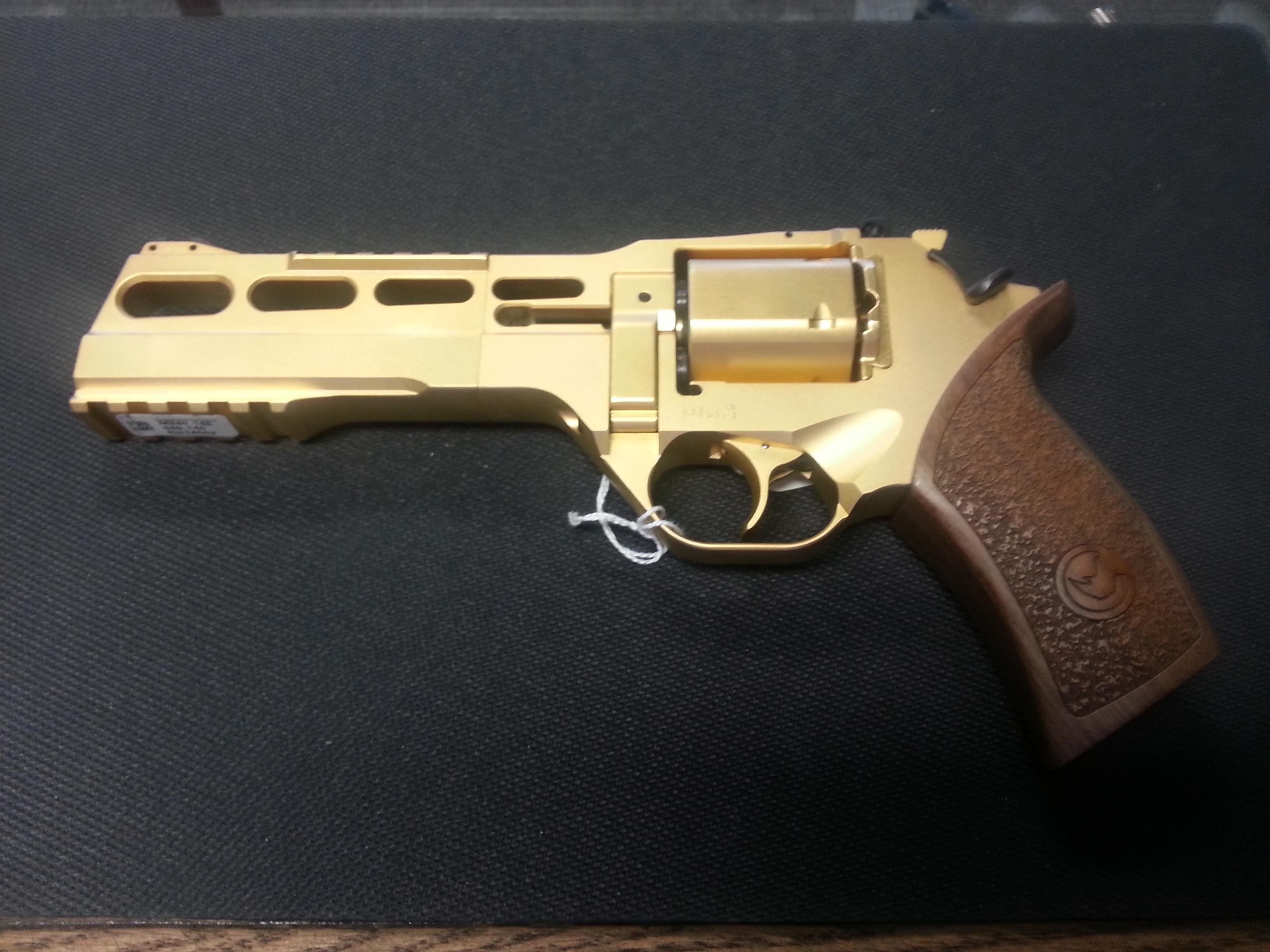 **NEW** Chiappa Gold Rhino 60DS Revolver in .35... for sale