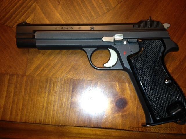 SIG P49 P210 SWISS Military w/ original holster like new
