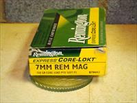 7mm Remington Mag once fired mixed brass