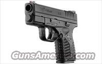 "SPRINGFIELD XDS 45ACP 3.3"" BLK 5RD"