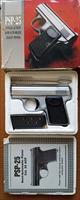 "PSP-25 .25acp ""Baby"" USA made Brushed Chrome, UNFIRED w/box"