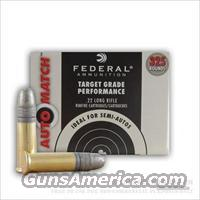 22 LR Ammo 325 Rounds Brick FEDERAL FMJ 22LR .22 Ammunition
