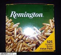 22 LR AMMO 525 ROUNDS REMINGTON BRICK AMMUNITION 22LR .22