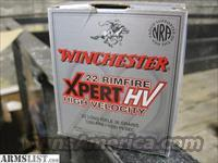 Winchester XPERT HV .22 LR Ammo 500 ROUNDS Brick 36gr 1280fps HP