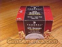 22 LR Ammo 375 Rounds Brick FEDERAL FMJ  22LR .22 Ammunition