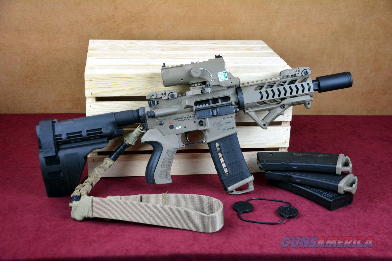 db15p ar 15 pistol fde battle ready ar15 for sale