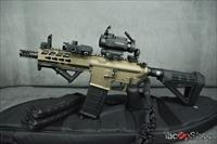 DB15P AR-15 Pistol Tactical Burnt Bronze!